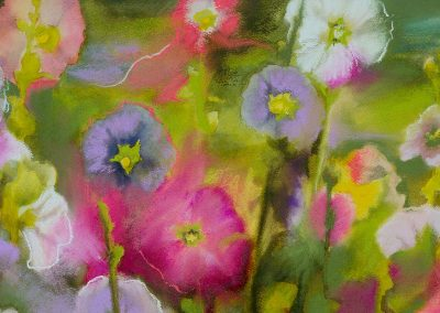 Flowers watercolor by Deb Van Poolen